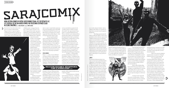 Zeszyty Komiksowe – a comic magazine from Poland 4