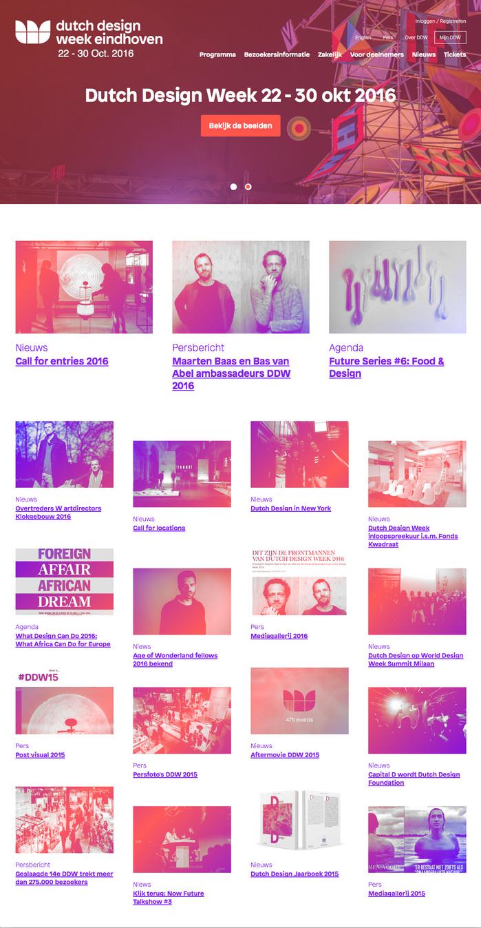 Dutch Design Week Eindhoven 2016 2