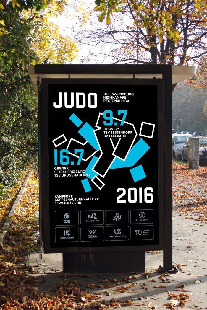 TSB Ravensburg Judo poster 2016 2