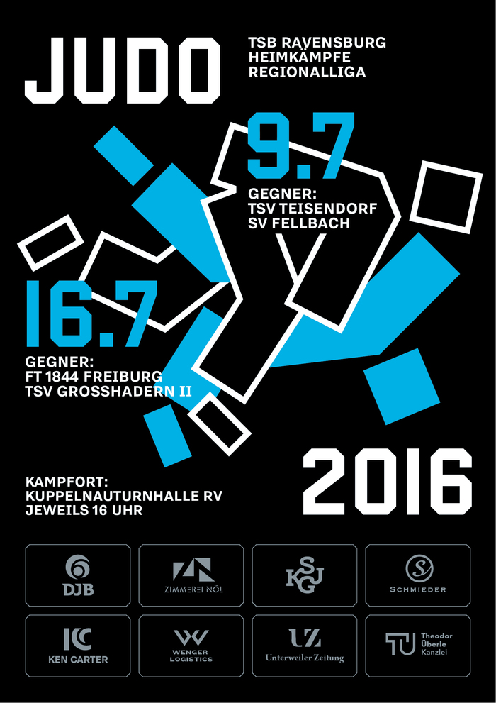 TSB Ravensburg Judo poster 2016 1