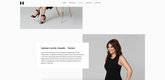 Julie Charbonneau website 2