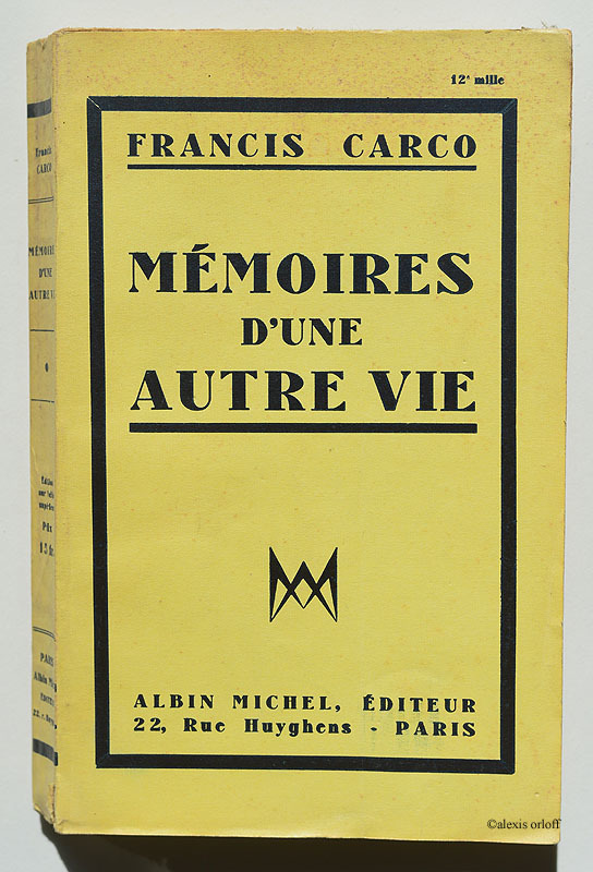 Mémoires d'une autre vie (1934)