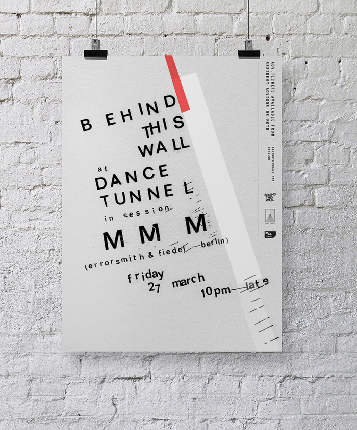 """""""Behind This Wall"""" at Dance Tunnel 6"""