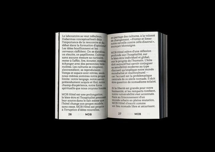 MOB Préface – reader for MOB Hôtel 3