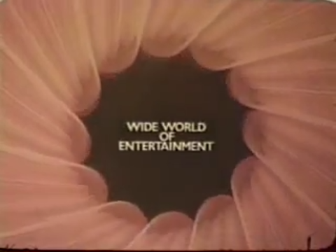 That's a pinwheel of ABC logos swirling around this title – a common effect among 1970s TV promos.