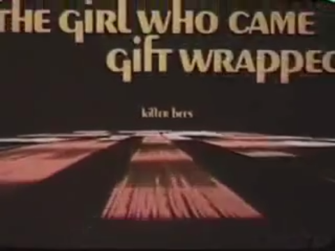 "ABC's ""Movie of the Week"" aired in various permutations from 1969 to 1976. The Girl Who Came Gift Wrapped sounds like an awful one, as these made-for-tv-films often were. An IMDB reviewer says it follows a ""pretty predictable formula"", but describes the script (written by Susan Silver) as a ""romantic comedy with a feminist slant""."