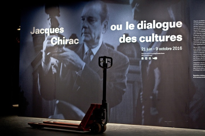 Jacques Chirac at Musée du Quai Branly 1