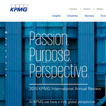 KPMG identity (2015 redesign)