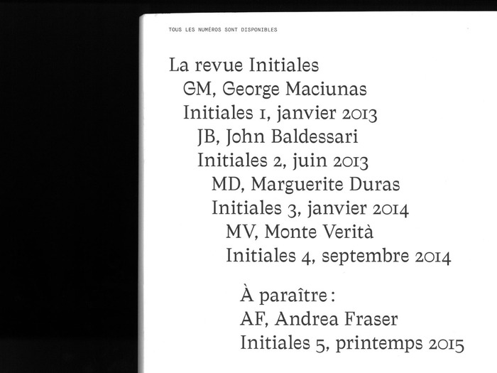 Initiales n° 04 – Initiales M.V. 5