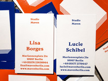Studio Maven business cards