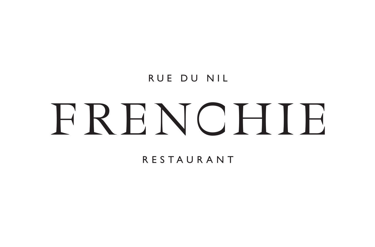 Frenchie Restaurant Fonts In Use
