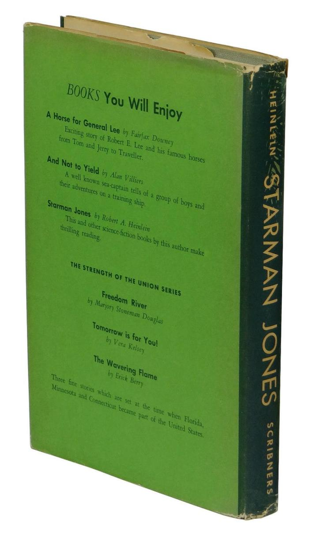 Starman Jones, 1953 Scribner's edition 2