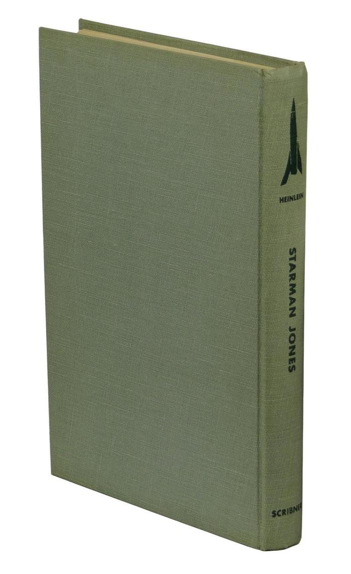 Starman Jones, 1953 Scribner's edition 4