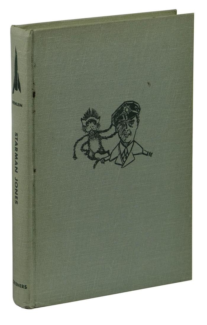Starman Jones, 1953 Scribner's edition 3