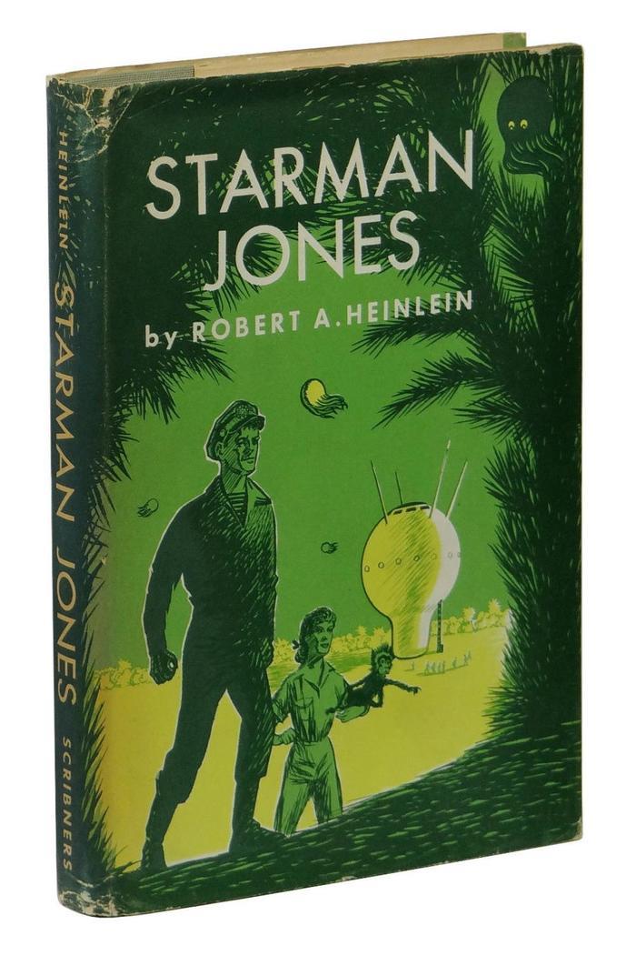Starman Jones, 1953 Scribner's edition 1