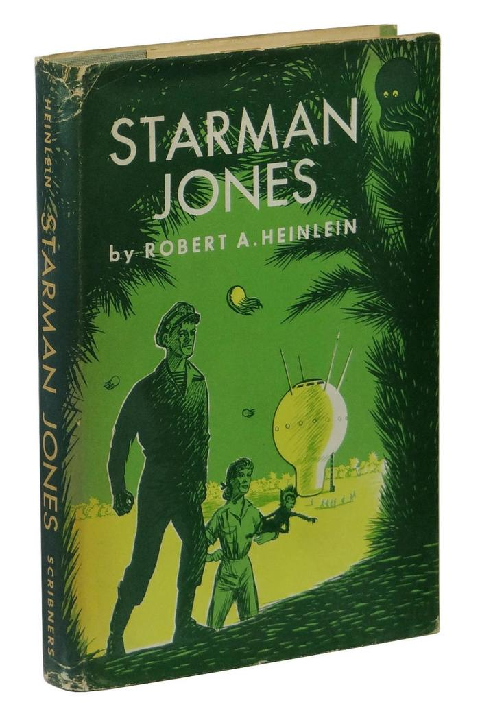 Starman Jones, 1953 Scribner's edition 1