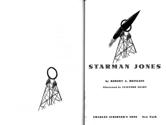 Starman Jones, 1953 Scribner's edition 5