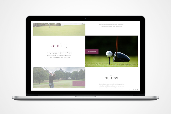 The Mere Golf Resort & Spa website 2