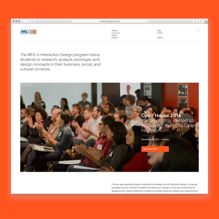 SVA MFA Interaction Design 1