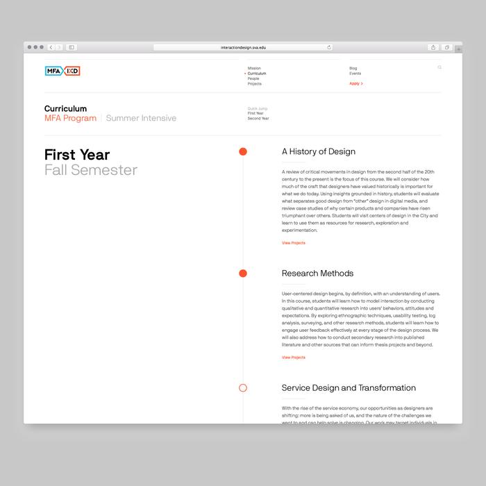 SVA MFA Interaction Design 2