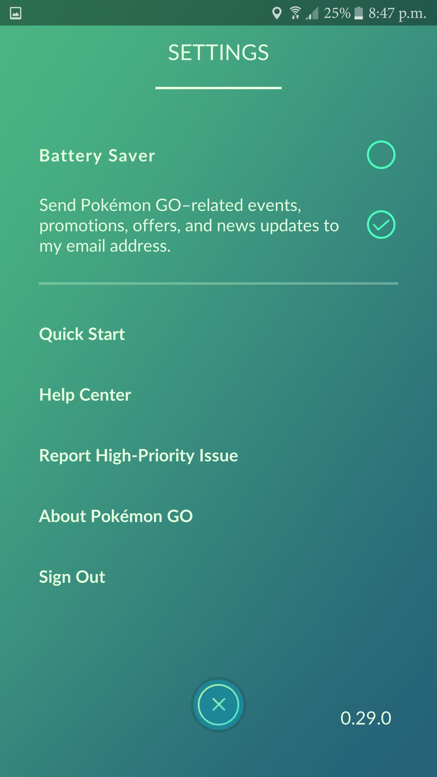 Pokémon GO - Fonts In Use