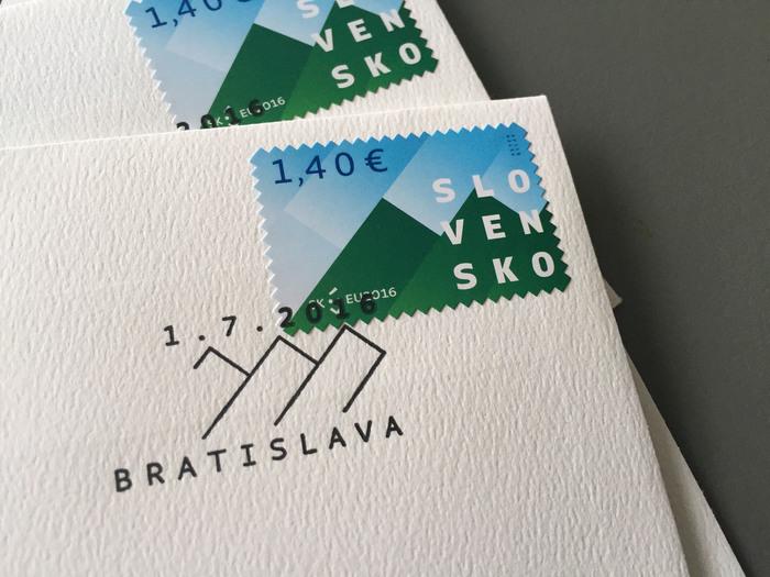 Slovakia EU Presidency post stamps 2