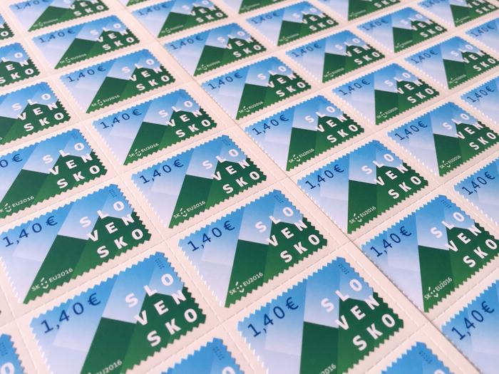 Slovakia EU Presidency post stamps 1