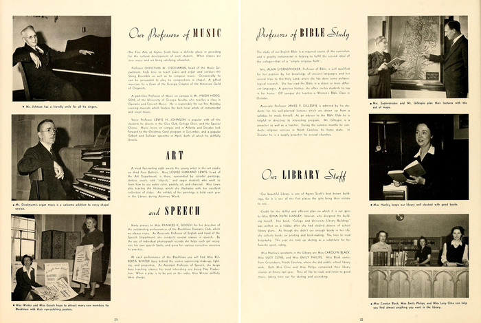 The 1943 Silhouette (Agnes Scott College yearbook) 6