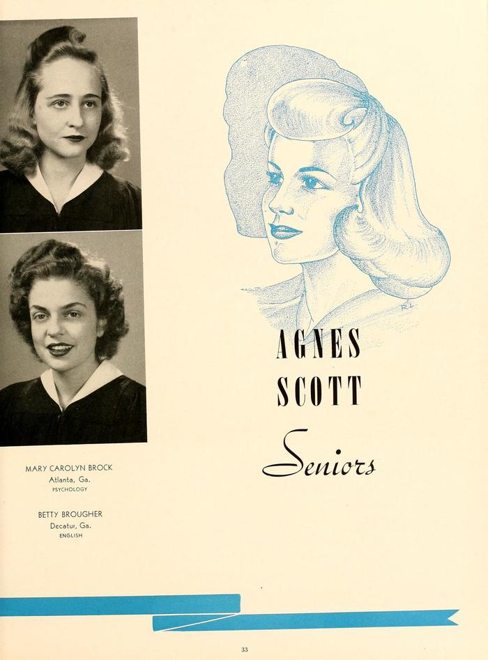 The 1943 Silhouette (Agnes Scott College yearbook) 7