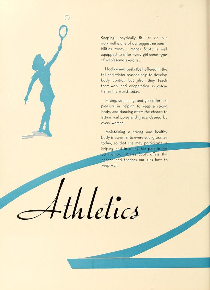 The 1943 Silhouette (Agnes Scott College yearbook) 9
