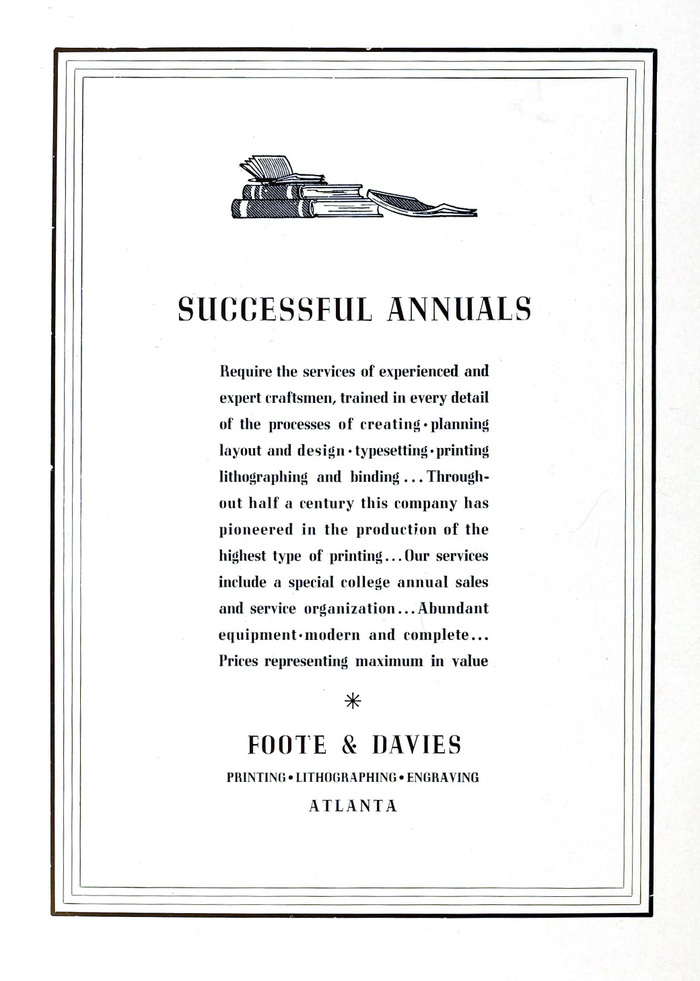 Foote & Davies ad