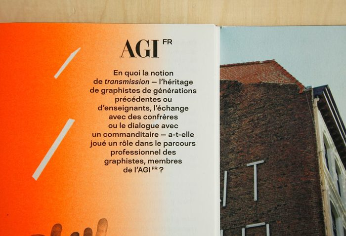 Alliance Graphique Internationale (AGI) France 3