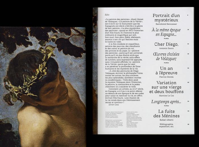 """""""Velázquez au Grand Palais"""", Télérama magazine 2"""