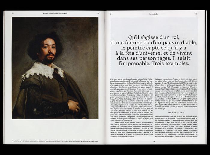 """""""Velázquez au Grand Palais"""", Télérama magazine 6"""