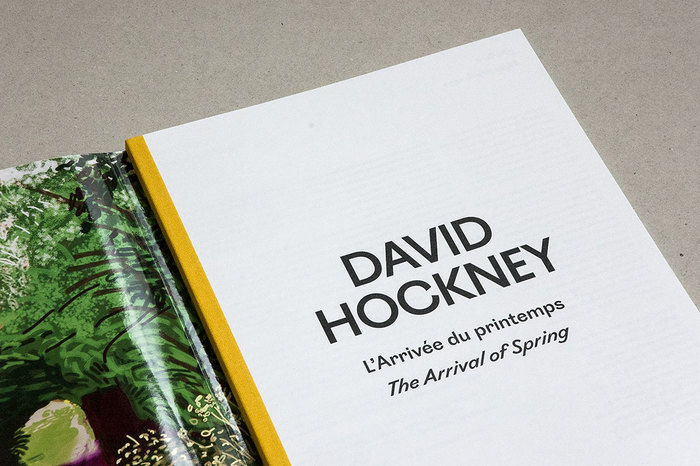 L'Arrivée du printemps / The Arrival of Spring by David Hockney 2