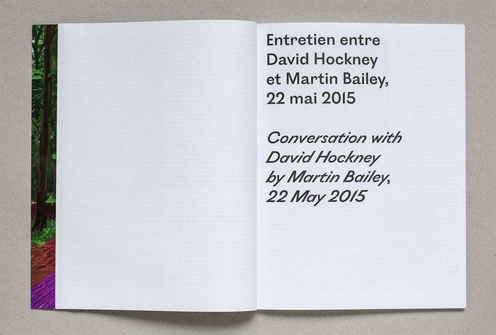 L'Arrivée du printemps / The Arrival of Spring by David Hockney 3