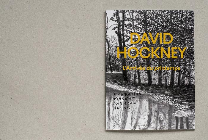L'Arrivée du printemps / The Arrival of Spring by David Hockney 1