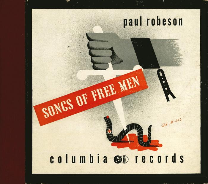 Paul Robeson – Songs of Free Men album art 1