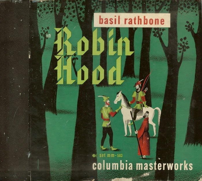 Robin Hood (Columbia Masterworks, 1945) album art