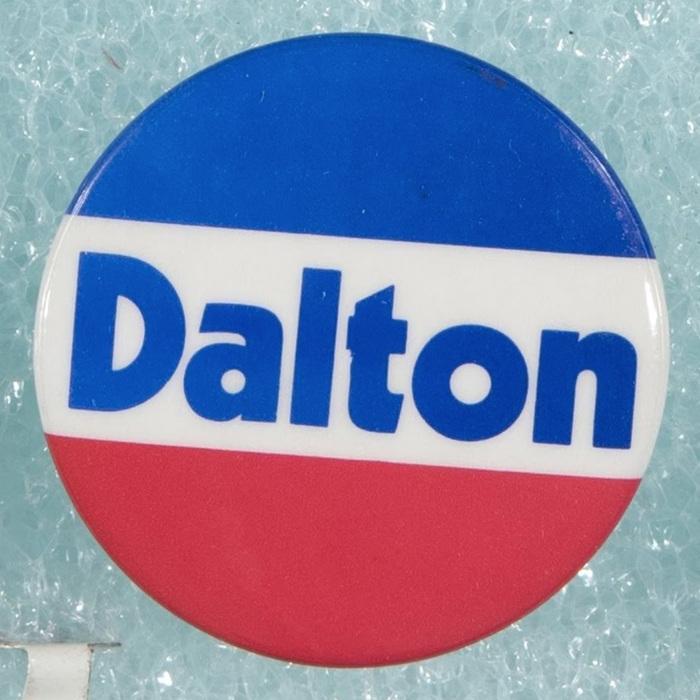 1978 campaign. Dalton for Governor.