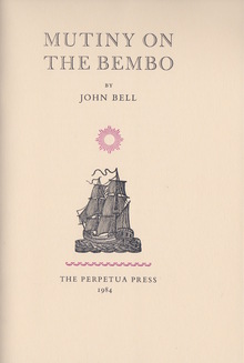<cite>Mutiny on the Bembo</cite> by John Bell, Perpetua Press