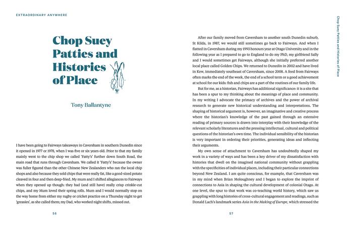 Extraordinary Anywhere: Essays on Place from Aotearoa New Zealand 11