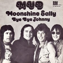 """Moonshine Sally"" / ""Bye Bye Johnny"" – Mud"