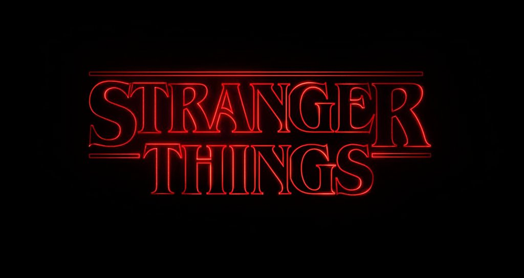 Stranger Things - Fonts In Use