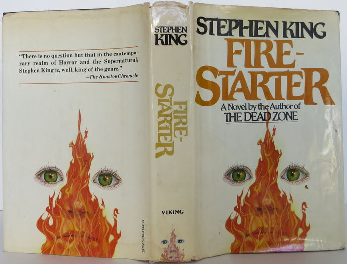 Firestarter, Viking 1st Edition 2