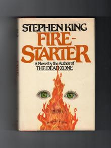 <cite>Firestarter</cite>, Viking 1st Edition