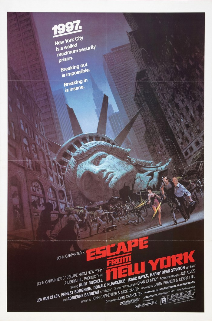 Escape from New York movie posters 2