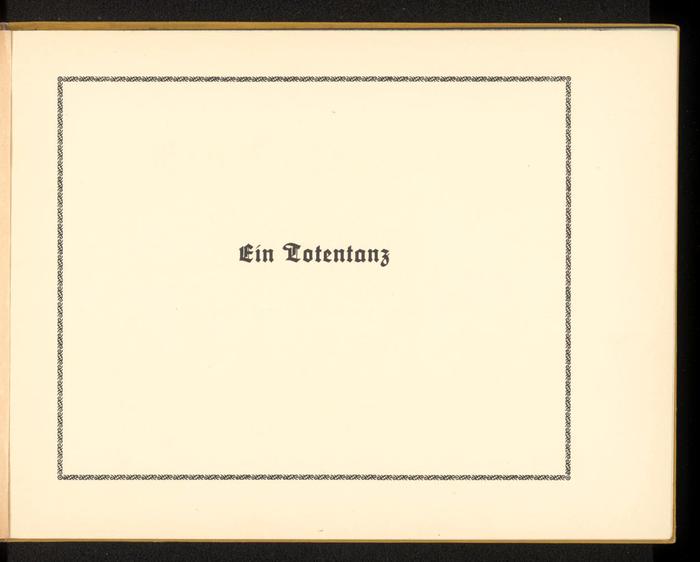 Ein Totentanz by Walter Draesner 2