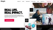 Olapic identity and website (2016)