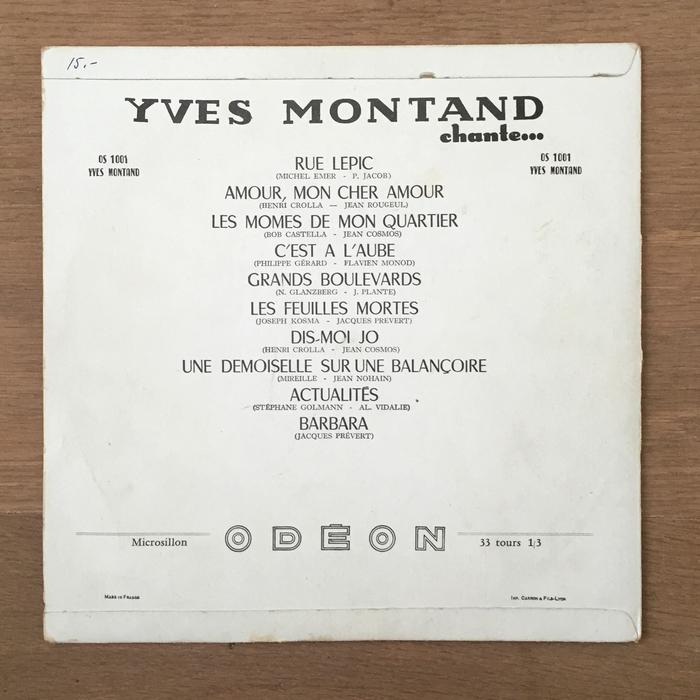 Yves Montand Chante… 2
